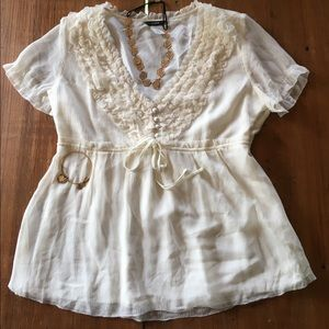 Feminine summertime blouse